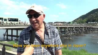 Travelers' Voice of Kyoto:ARASHIYAMA Area Interview 004