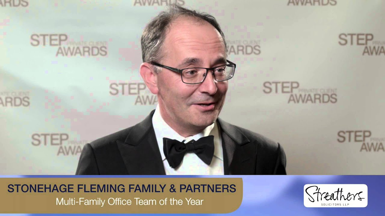 Stonehage Fleming Family & Partners win STEP PCA for Multi-Family Office Team of theYear