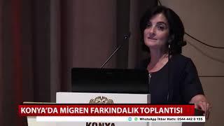 Konya'da migren farkındalık toplantısı