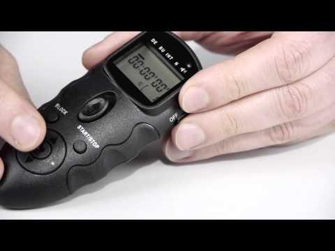 JJC Universal HDR Timer Kabelauslöser mit Infrarotauslösung - by www.enjoyyourcamera.com