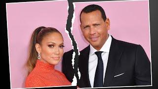 Jennifer Lopez and Alex Rodriguez SPLIT After 4 Years Together