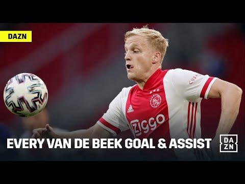 Every Donny van de Beek UCL Goal & Assist