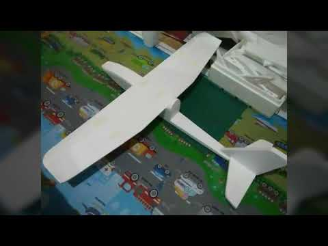 "Homemade RC Plane | 72"" RC Plane 