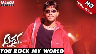 You Rock My World Song Lyrics from Aarya - Allu Arjun