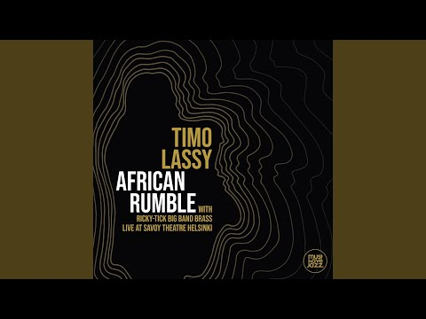 African Rumble (Live at Savoy Theatre Helsinki) online metal music video by TIMO LASSY