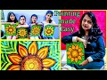 Step by step tutorial on Painting sunflowers Easy Tips Tricks on how to paint beginners kids