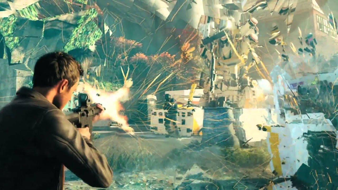 Обложка видео Геймплейный трейлер Quantum Break