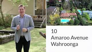10 Amaroo Avenue, Wahroonga