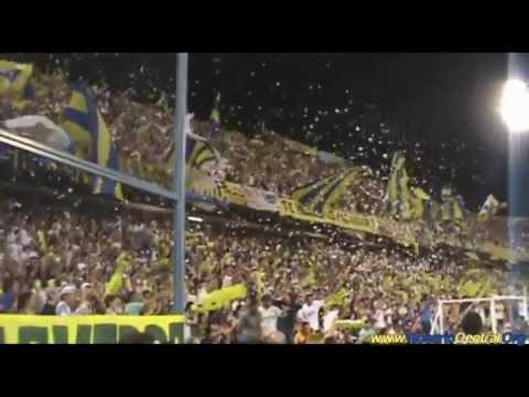"""""""En el barrio de Arroyito los guerreros"""" Barra: Los Guerreros • Club: Rosario Central"""