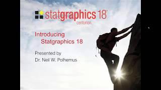 Statgraphics Centurion video