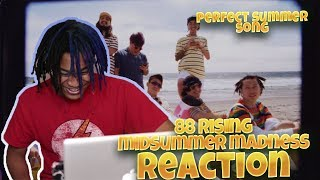 88RISING - Midsummer Madness Ft. Joji, Rich Brian, Higher Brothers, AUGUST 08 (MV) - REACTION