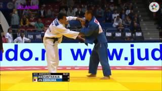 Ebinuma vs Zantaraia - QF  - Judo World Championship 2014