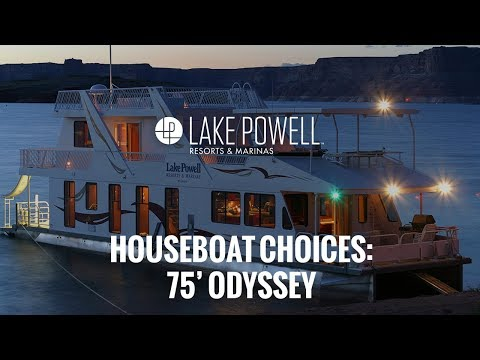 Luxury Class 75' Odyssey Houseboat Video