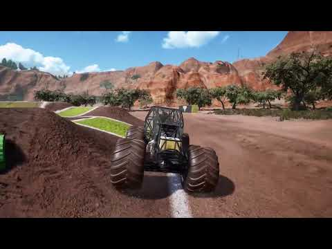Monster Jam Steel Titans -  Monster Jam University (First Gameplay) thumbnail