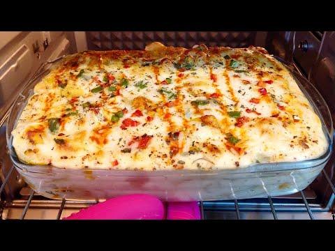 White Sauce Pasta || Creamy Bake Pasta Easy Steps