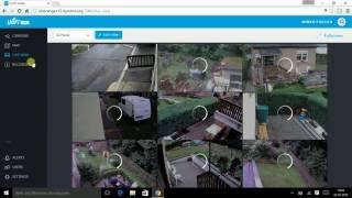 Videoüberwachung FullHD - Grundstücksüberwachung - Ubiquiti NVR einstellen und testen