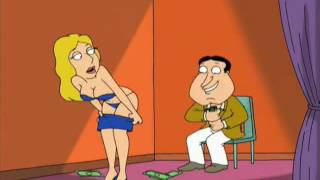 Family Guy - Chris and Quagmire at the nudy bar