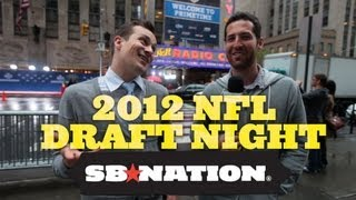NFL Draft 2012 Experience: VIP vs. Fan on the Street thumbnail