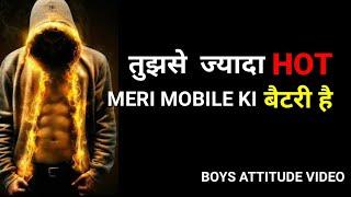 Boy Attitude video in hindi ||Attitude Quotes||Attitude boy ||Arya shayari