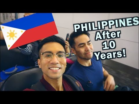 GOING HOME TO THE PHILIPPINES 🇵🇭 | PHILIPPINES TRAVEL VLOG