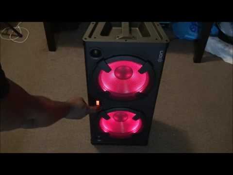 Review ION Audio Road Warrior | 500-watt Portable Bluetooth Stereo Speaker