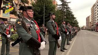 Parada Militar y Desfile, Huesca 2019 Patrona Institucional de la Guardia Civil
