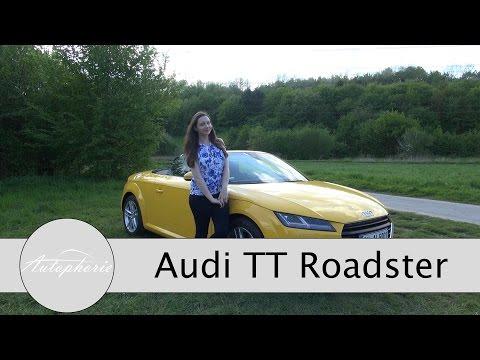 Audi TT Roadster 1.8 TFSI (180 PS) im Test / Review / Fahrbericht
