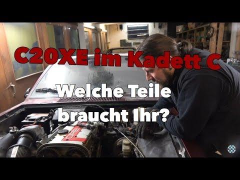 16V (C20XE) im Kadett C / Welche Teile braucht Ihr // Opel Kadett C Coupe Projekt Folge 8.1