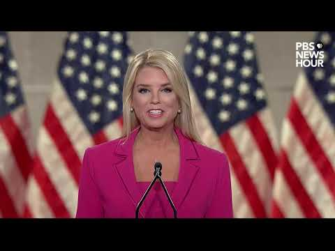 WATCH: Former Florida Attorney General Pam Bondi's full speech at the Republican National Convention