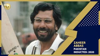 Zaheer Abbas inducted into the ICC Hall of Fame in 2020