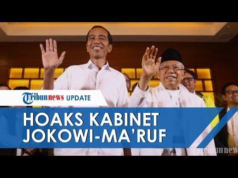Beredar Surat Berisi Susunan Kabinet Jokowi-Ma'ruf Amin, Pihak Istana Pastikan Isinya Hoaks