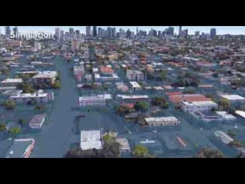SIMULATION SHOWS WHAT MIAMI WILL LOOK LIKE AFTER HURRICANE IRMA HITS!  LEAVE FLORIDA NOW!
