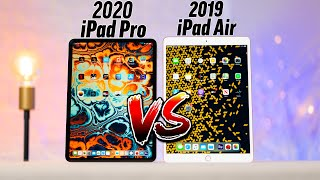 2020 iPad Pro vs 2019 iPad Air - Ultimate Comparison