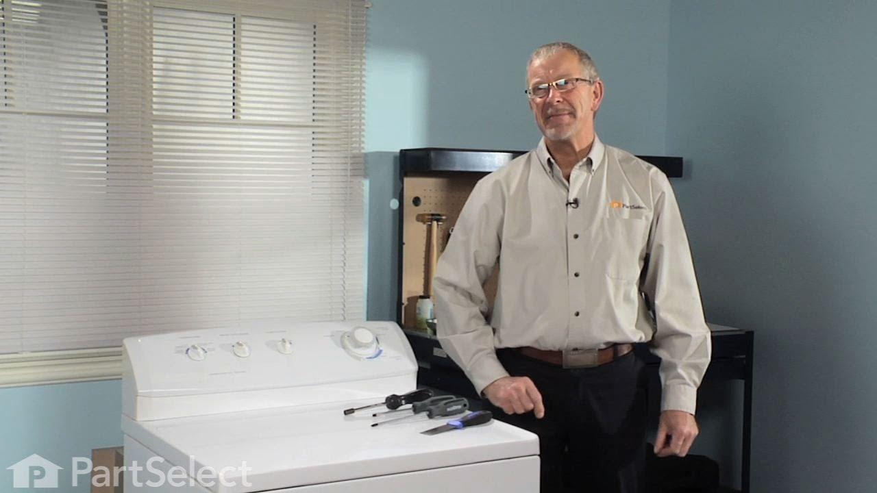 Replacing your Frigidaire Dryer Rear Drum Bearing Kit