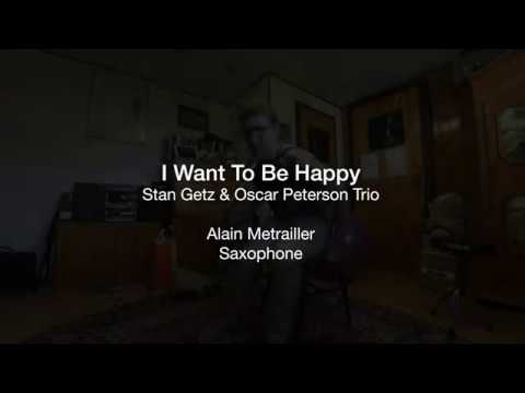 One of the best ways to learn is to mimic. Here is my transcription of Stan Getz's solo on I Want To Be Happy with the Oscar Peterson Trio.