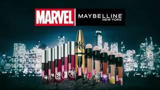 MARVEL X Maybelline New York