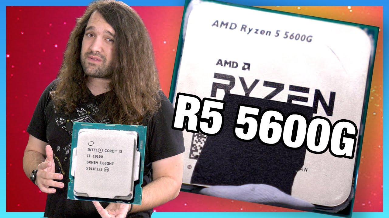 AMD Ryzen 5 5600G APU Review & Benchmarks: 260 CPU + GPU (vs. 5600X & More)