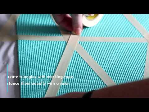 DIY: Painted Yoga Mat
