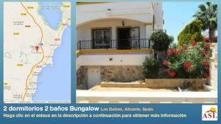 preview picture of video '2 dormitorios 2 baños Bungalow se Vende en Los Dolses, Alicante, Spain'