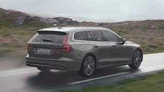 New Volvo V60 2019 - driving footage (no sound)