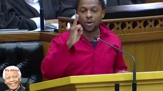 """""""Jacob Zuma And ANC Government Is Sick"""" EFF Mbuyiseni Ndlozi."""