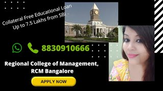 Regional College of Management, Bangalore
