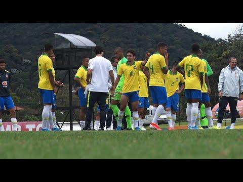 Seleção Sub-20 encerra período de treinos na Granja Comary