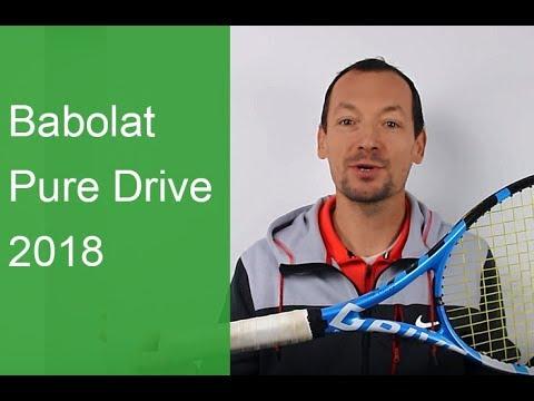 Test de la raquette de tennis Pure Drive 2018