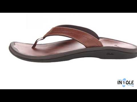 OluKai Ohana Leather Stallion & Stallion Sandals for Women @TheInsoleStore.com
