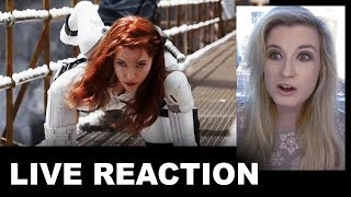 Black Widow Trailer REACTION