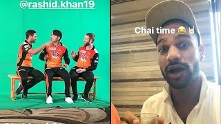 Sunrisers Hyderabad | Funny Shoots | SRH Ipl 2018