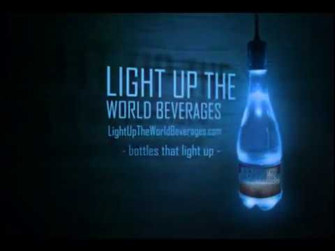 Light up the World Beverages – With Bottles That Light Up