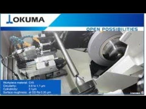Okuma GA26W Axle Shaft Machining
