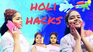 HOLI HACKS You Must Try | Anku Sharma